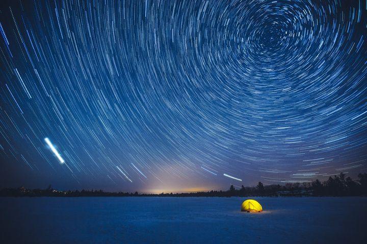 仰望加拿大暗夜 迎接璀璨星河